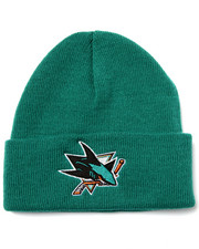 American Needle - San Jose Sharks Team Logo knit hat