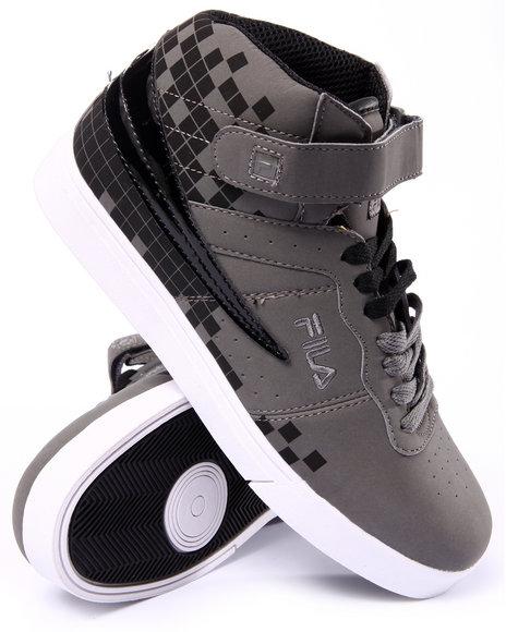 Fila - Men Grey Vulc 13 Digital Fade Sneaker