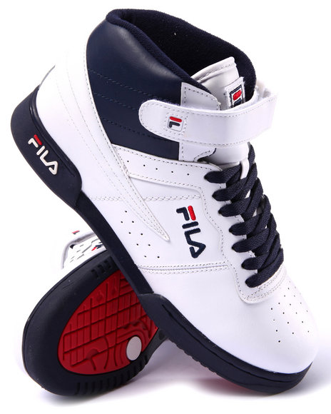 Fila - Men Blue F-13 Leather Sneaker