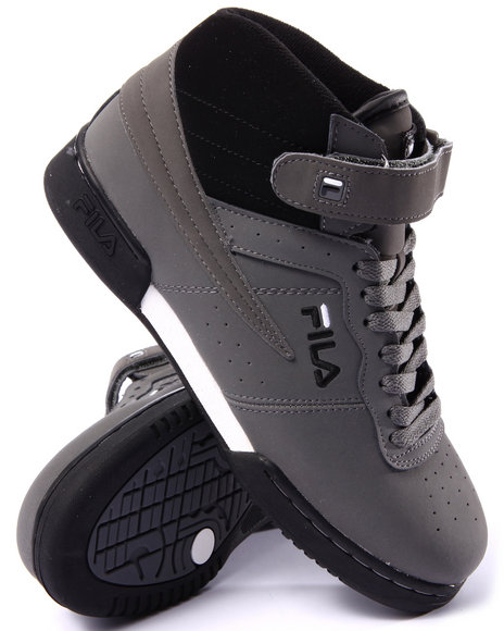 Fila - Men Black F-13 Leather Sneaker