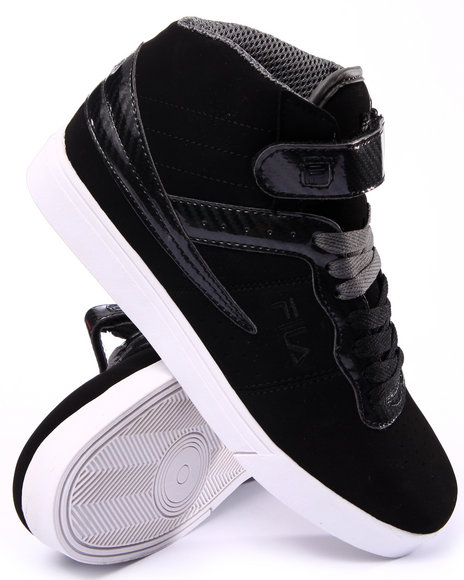 Fila - Men Black Vulc 13 Fb Windshift Hightop Sneaker