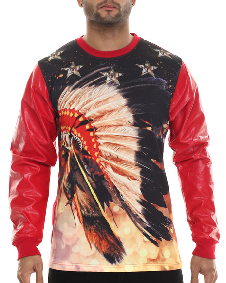 Buyers Picks - Men Red Chief Head Sweatshirt
