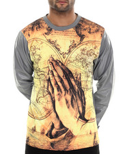 Shirts - World in Hands Sublimated L/S Shirt