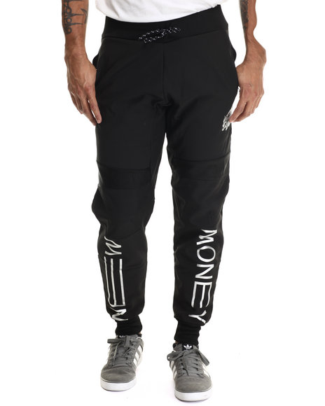 Rocksmith - Men Black New Money Neoprene Jogger