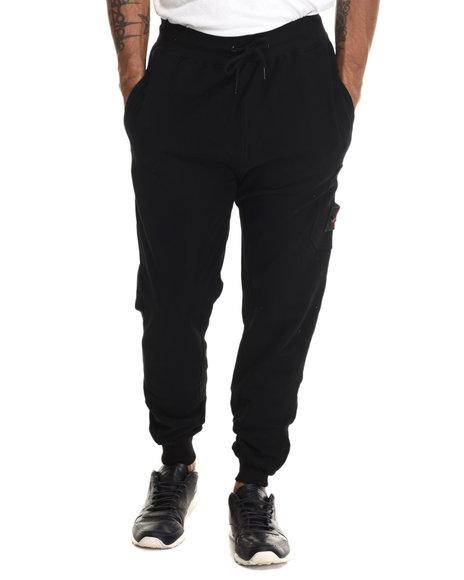 Hudson Nyc - Men Black Lookout Jogger Pants