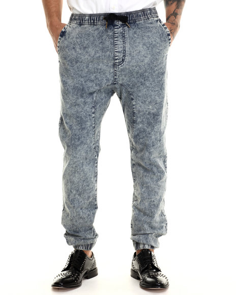 Ur-ID 213125 Zanerobe - Men Light Blue Sureshot Jogger Pants