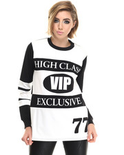 -FEATURES- - Vip High Class L/S Tee