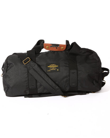 Grizzly Griptape Men Grizzly Military Duffle Bag Black