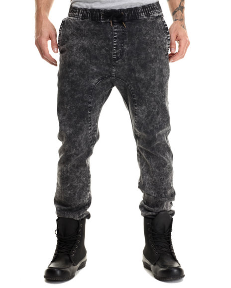 Ur-ID 213112 Zanerobe - Men Black Sureshot Jogger Pants