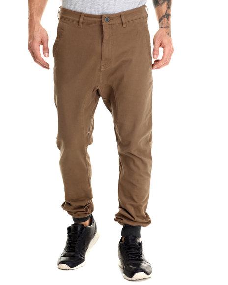 Ur-ID 213116 Zanerobe - Men Brown Dynamo Chino Jogger Pants