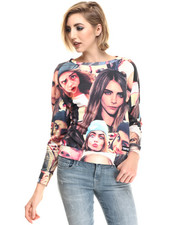 Sweatshirts - Cara Faces # Sweatshirt