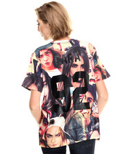 Tops - Cara Faces Oversized # Tee