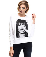 Women - Naomi Moustache Sweatshirt