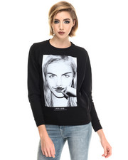 Women - Cara Moustache Sweatshirt