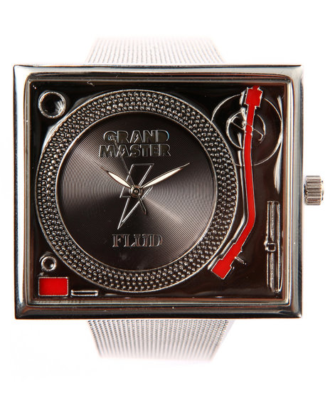 Flud Watches Men Grandmaster Flash Tableturns Watch (Limited Edition) Black