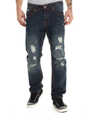Men - Flap Pocket Stiched Denim