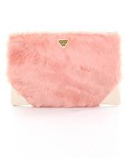 Handbags - Candy Faux Fur Clutch