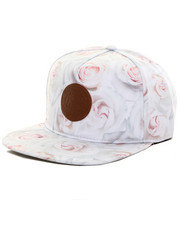 Accessories - White Rose Snapback