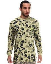10.Deep - Stacks L/S Pacific Camo Tee