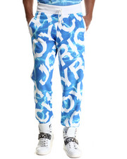 Men - Aqua Message Sweatpant