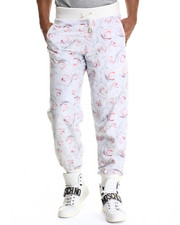 Men - White Rose Reverse Pant