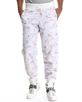 -FEATURES- - White Rose Reverse Pant
