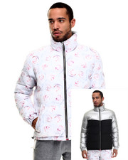 Men - White Rose Reverse Jacket