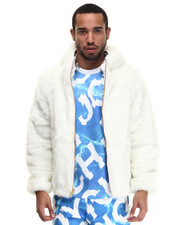 Men - Candy Faux Fur Jacket