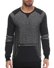 Men - Sanski Zipper - Trimmed Sweatshirt