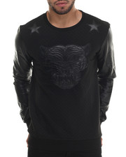 Men - Sazam Quilted Sweatshirt