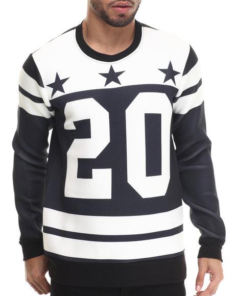 Buyers Picks - Men White '20' Neoprene Jersey