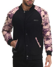 Men - Tiflor Floral - Sleeve Jacket