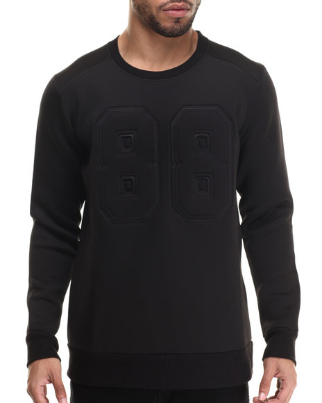 Waimea - Men Black '88' Textured Neoprene Jersey