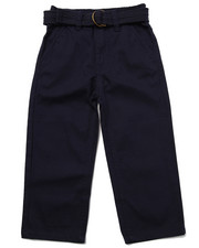Boys - BELTED TWILL PANTS (2T-4T)