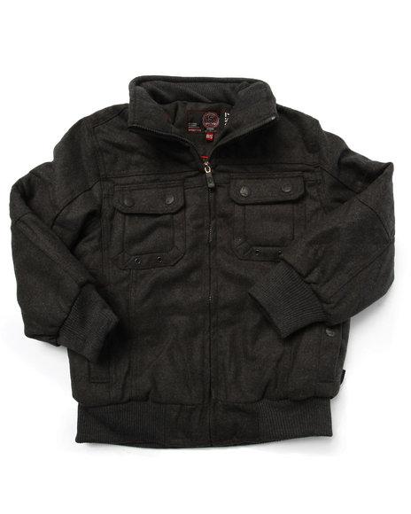 Arcade Styles Charcoal Heavy Coats