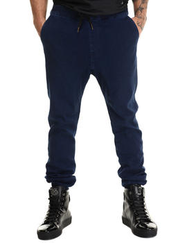 Men - Sureshot Blue Black Jogger