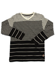 Boys - Y/D STRIPED V-NECK TOP (8-20)