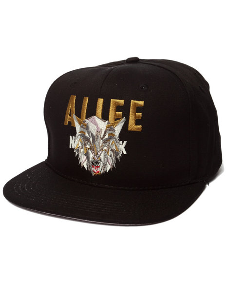 Alife Men Wolfpack Snapback Hat Black - $34.00