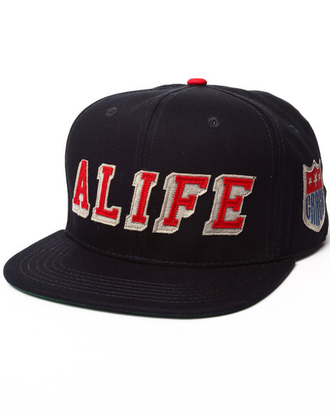 Alife Men Hometeam Snapback Hat Navy - $34.00