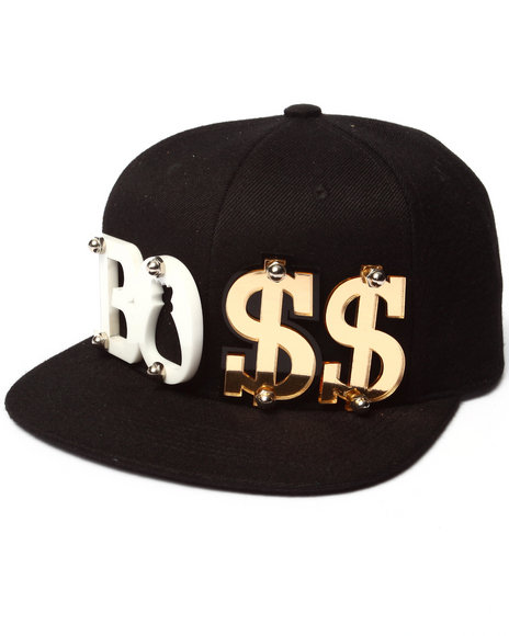 Pradagy Men Boss Paislee Hat Black
