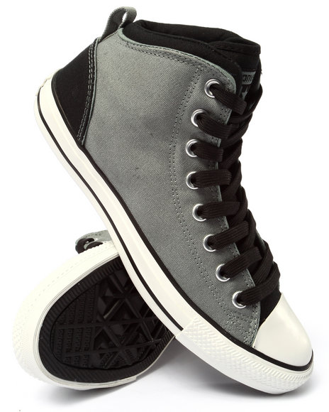 Converse - Men Grey Chuck Taylor All Star Static Sneakers