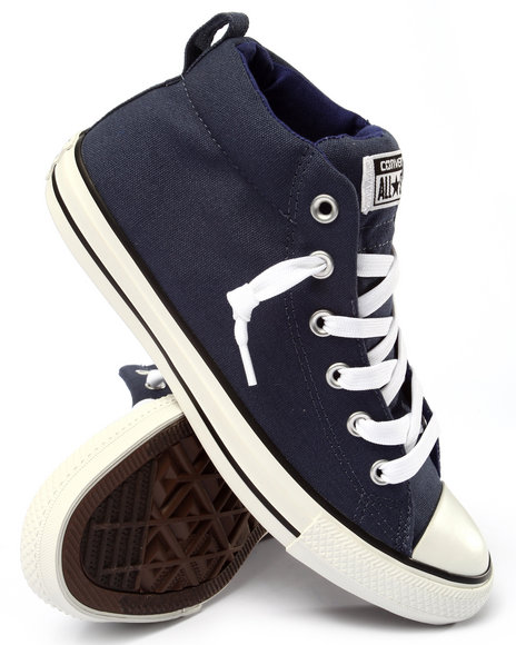 Converse - Men Navy Chuck Taylor All Star Street Sneakers