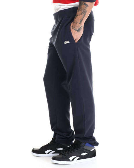 Alife - Men Navy Star Flag Sweatpants - $80.00