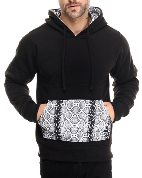 Enyce - Men Black Drak Pull Over Hoodie - $54.00