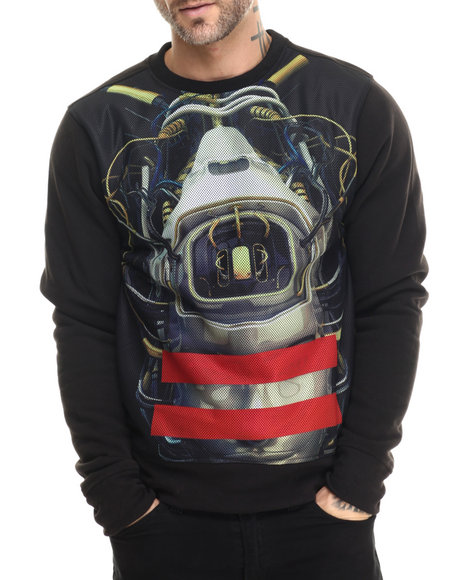 Enyce - Men Black Future Sweatshirt - $48.00