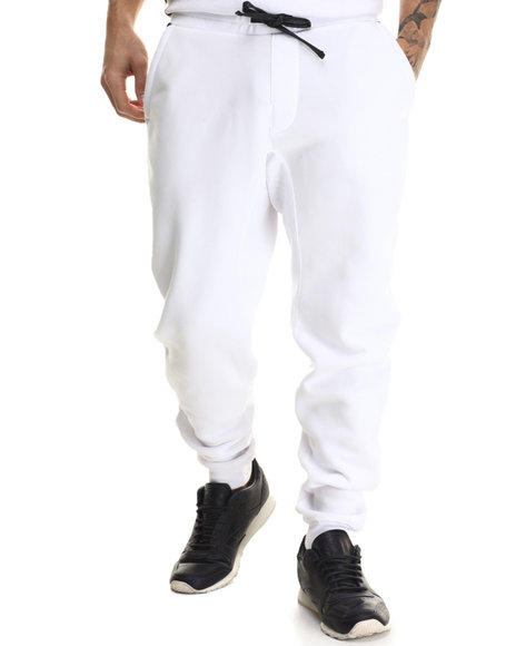 Enyce - Men White Grand Track Pants - $45.99