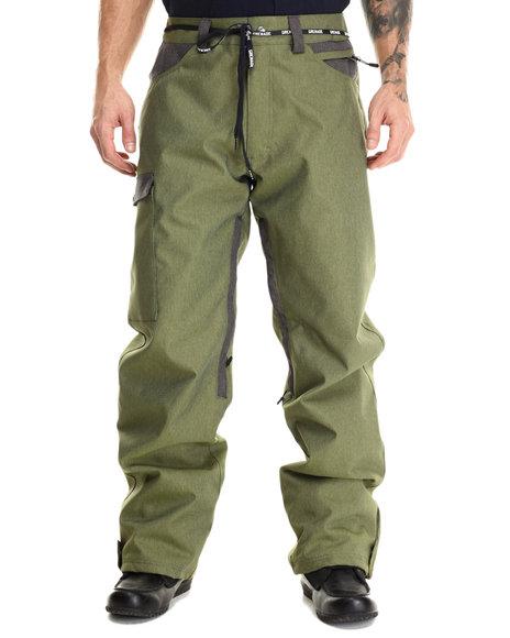 Grenade - Men Olive R.E.G. Waterproof Snow Pants