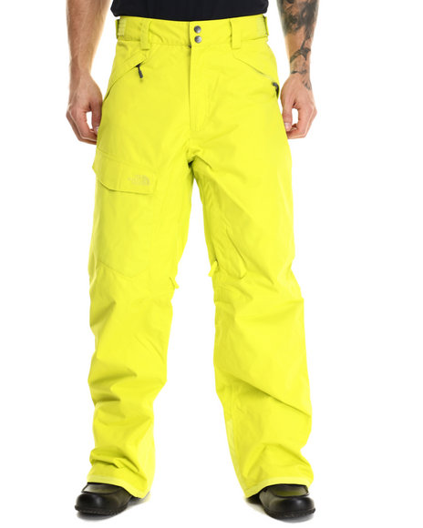 The North Face - Men Yellow Freedom Insulated Pants