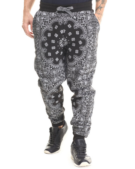 Ur-ID 213257 Enyce - Men Black D12 Jogger Pants