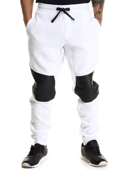 Enyce - Men White Luda Joggers